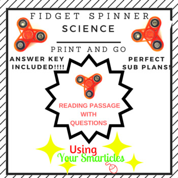 Fidget Spinners  - Print and Go