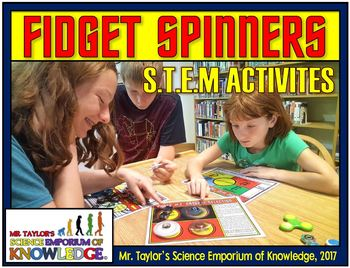 Fidget Spinners - STEM Activities and Games