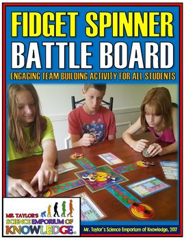 Fidget Spinners: Team Building Battle Game