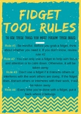 Fidget Tools Rules