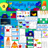 Fidgety Fish book study activity pack