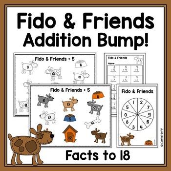Addition Bump - Fido & Friends - Addition to 18