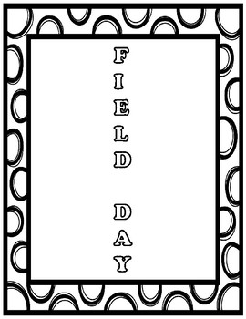 Field Day Acrostic Poem