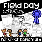 Field Day Activities for Upper Elementary