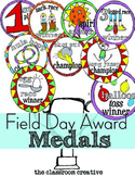 Field Day Award Medals