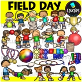 Field Day Clip Art Bundle {Educlips Clipart}