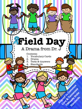 Field Day Drama Play Reader's Theater Common Core Aligned