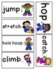 Field Day Emergent Reader and word cards