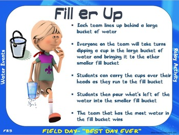 Field Day Event Cards- 10 FREE Events
