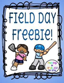 Field Day FREEBIE