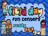 Field Day Fun Centers {Perfect To Use Before and After Field Day}