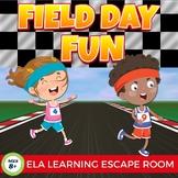 Field Day Fun Digital Escape Room Language Arts Upper Elementary