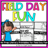 Field Day Fun No Prep Printables | Distance Learning