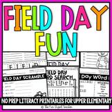 Field Day Fun Packet NO PREP