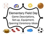 Field Day Games Unit for Elementary School # 2