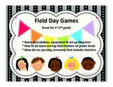 Field Day Games Unit for Elementary School # 3