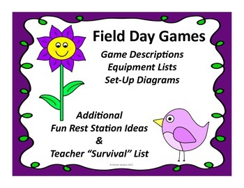 Field Day Games Unit for Elementary School # 4