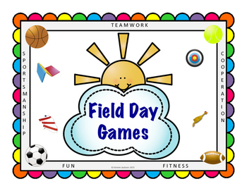 Field Day Games Unit for Elementary School # 5