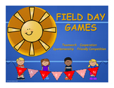 Field Day Games Unit for Elementary School # 7