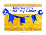 Intermediate Field Day Games Unit for Elementary School