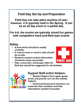 Field Day Guide for 4-6: Planning, Set-Up, Activities, Guides and More
