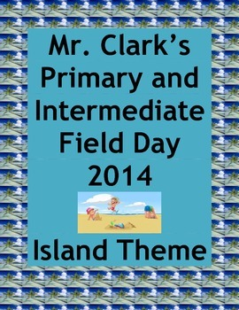 Field Day Island Adventure Physical Education Primary and Intermediate