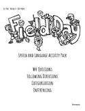 Field Day Language Activity Pack