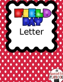 Field Day Letter