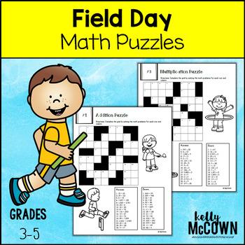 Field Day Activities Math Elementary