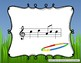 Field Day Melodies - Interactive Practice Game for Notation {la} 5 line