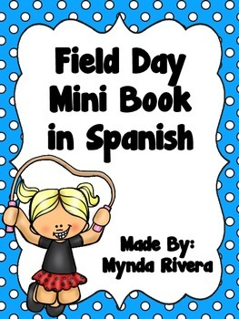 Field Day Mini Book in Spanish