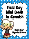 Field Day Mini Book in Spanish