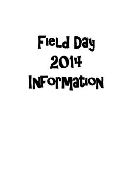 Field Day Packet