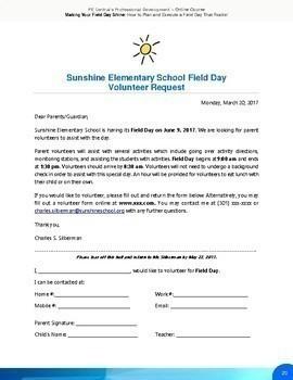 Field Day Planning Set