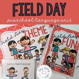 Field Day - Preschool Language Unit