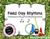 Field Day Rhythms - Rhythm Reading Practice Game {syncopa}