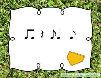 Field Day Rhythms - Rhythm Reading Practice Game {syncopa}