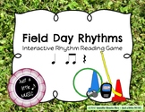 Field Day Rhythms - Rhythm Reading Practice Game {ta titi rest}