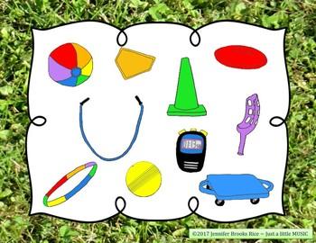 Field Day Rhythms - Rhythm Reading Practice Game {ta-ah}
