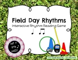 Field Day Rhythms - Rhythm Reading Practice Game {ta titi}