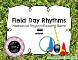 Field Day Rhythms - Rhythm Reading Practice Game {tika tika}