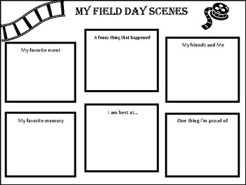 Field Day Scenes Activity
