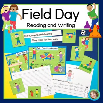 Field Day Sentence Picture Match Reading Center