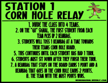 Field Day Stations