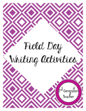 Field Day Writing Activities