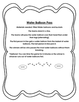 Field Day and PE Games