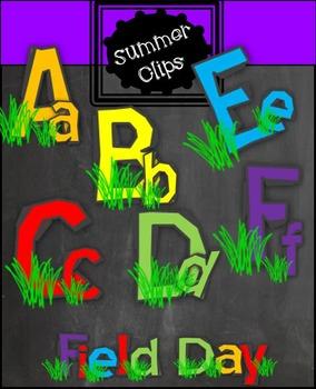 Field Day clip art FONT