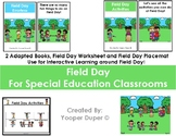 Field Day Adapted Books for Special Education