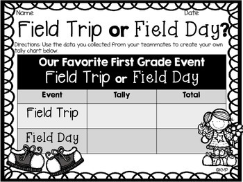 Field Day or Field Trip? End of the Year Activity Set