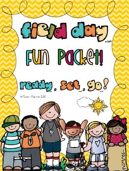 Field Day/End of Year Fun Packet!